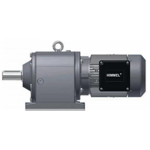 HIMMEL斜齿轮马达S01-M1B2 0.25KW 220~240/380~415V 2830rpm B3 IP55